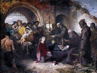 Entierro del Condestable. eduardo Cano de la Peña. Museo del Prado.