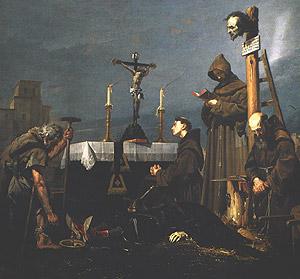 Muerte del condestable de Castilla y valido de Juan II.