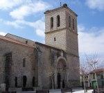 Iglesia de San Juan Evangelista, en Arrabal de Portillo.