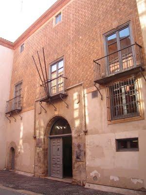 Casa de los Zúñiga, donde pasó su última noche Don Álvaro. Desde allí salió hacia el cadalso.