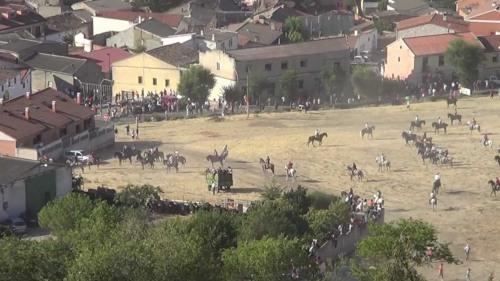 Panorámica de la explanada de Gascón. Vista desde Portillo, 1º Distrito.