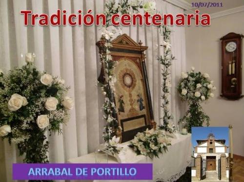 Domingo entrega Tradición centenaria