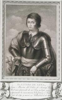 Don Álvaro de Luna - Lienzo de 1791.