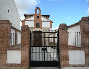 Actual ermita del Ecce Homo, lugar donde se encuentra la inscripción en tabla del milagro de las ranas.