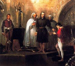 Ejecución de don Álvaro de Luna - Lienzo de Madrazo.