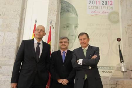 Parte del equipo de Juanjo Mateos y responsables del frracaso educativo en Castilla y León.