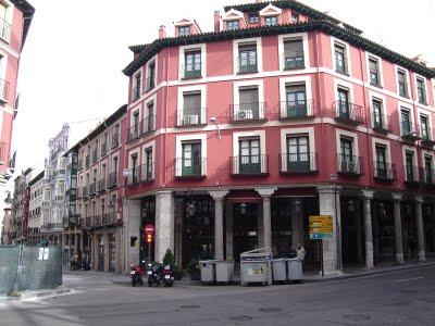 Plaza del Ochavo, junto al actual Mercado del Vall.