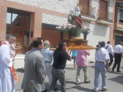 Procesión festividad de Justa y Rufina 2013. Arrabal de Portillo.