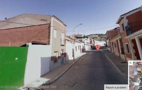 Continuación de la calle Vasijeros, en dirección a lo que conocemos como catro calles.