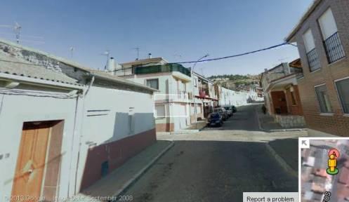 3.- Continuación de la calle Vasijeros en dirección a la carretera de Segovia.