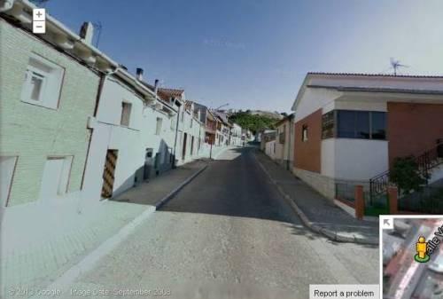 """5.- Foto capturada de """"Google maps"""", a la altura de la 'Placituela', junto al domicilio del señor Orencio Matesanz."""