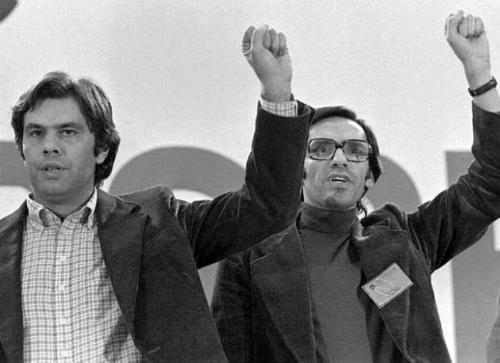 Felipe González y Alfonso Guerra, parias de la tierra.