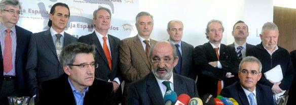 Consejo de Caja España. No olviden estas caras y no voten a sus portadores nunca más.