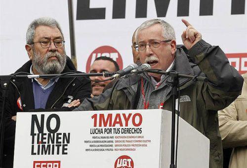 Méndez y Toxo, fraudulentos líderes de sindicatos de clase