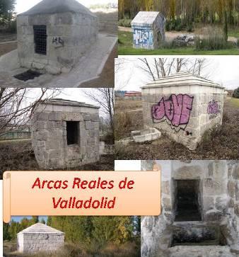 Modelos de algunas de las Arcas Reales de Valladolid, muy anteriores en el tiempo a la fuente de Arrabal de Portillo.