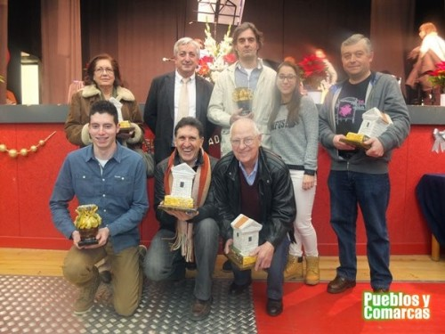 """Premiados en la segunda edición de los premios """"Fuente Vieja"""", año 2014."""