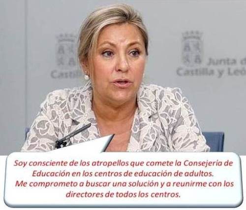 Rosa Valdeón Santiago, actual vicepresidenta, consejera de Empleo y portavoz.