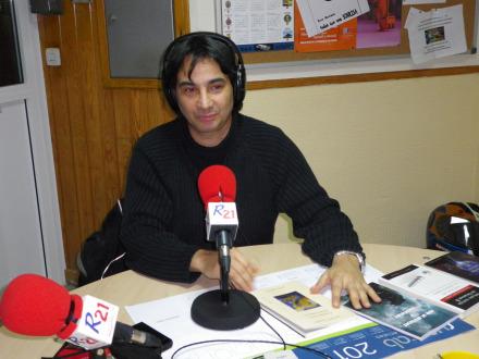 """Ignacio Fernández Candela, autor de """"La afilada navaja Ochkam II"""", entre otras muchas obras."""