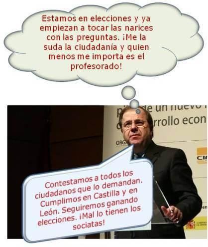 Juan Vicente Herrera Campo, presidente de Castilla y León y, a la vez, 'encabronado' con Mariano Rajoy y con su propio partido por las traiciones sufridas.
