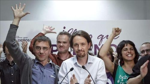 pablo Iglesias y otros podemitas, la vergüenza de toda una generación.