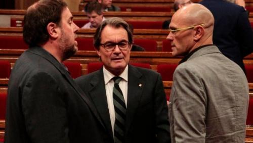 Próceres cutres del independentismo catalán
