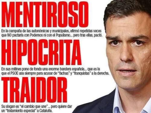 Características más significativas de Pedro Sánchez, actual líder socialista y candidato a las generales de mayo.