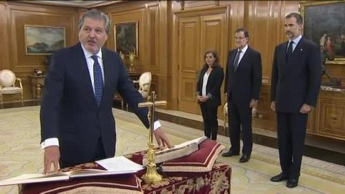 Íñigo Méndez de Vigo, actual ministro de educación del Gobierno de Mariano Rajoy.