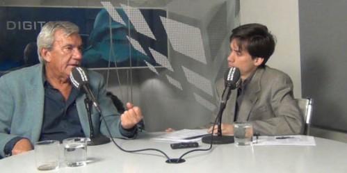 Joaquín Vila en una entrevista, hablando de libertad de expresión.