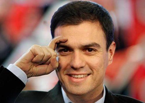 Pedro Sánchez, secretario general del Partido Socialista Español.