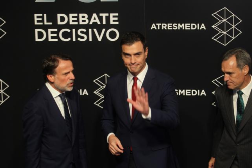 Pedro Sánchez, falso líder del Partido Socialista, hoy denostado por buena parte de afilaidos y simpatizantes.