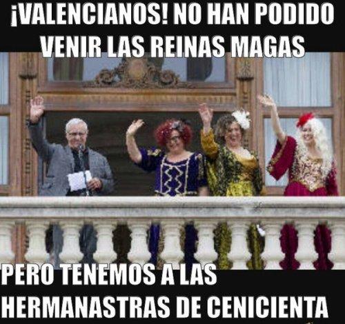 """Las reinas """"magas"""" en Valencia: intento de resucitar una de las barbaridades estrafalarias que implantó, sin éxito, la Segunda República."""