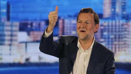Mariano Rajoy Brey, presidente del Gobierno de España.