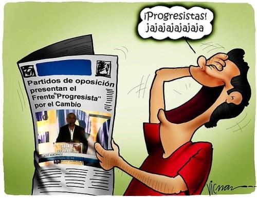La analfabeta costumbre de llamar progresista a las formaciones de izquierda.