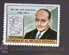 Viñeta homenaje a Dr. D. Pío del Río Hortega