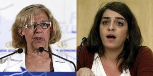 Manuela Carmena y Celia Mayer, dos malos ejemplos educativos y personales.