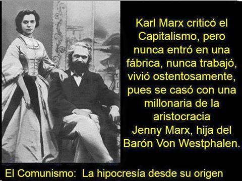 El marxismo: una de las ideologías más irracionales de la Historia y la que más muerde y miseria ha creado junto con el comunismo. Foto: Robada en Facebook.