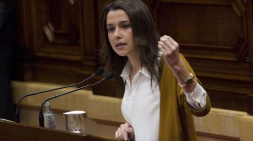 Inés Arrimadas, líder de C's en Cataluña.