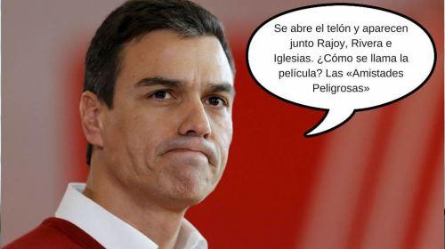 Pedro Sánchez, líder vapuleado del PSOE.
