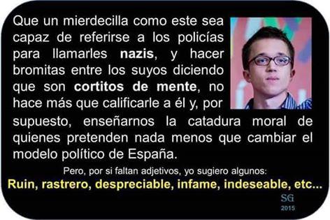 Perfil ajustado de Íñigo Errejón, el niño-pijo y 'cazabecas' más desnortado del chavismo podemita.