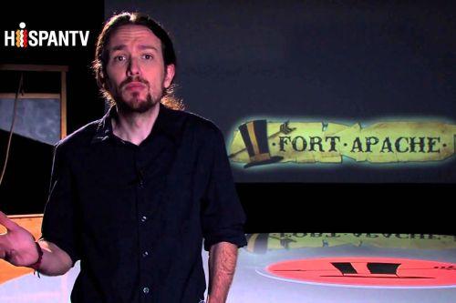 Pablo Manuel durante el programa Fort Apache.