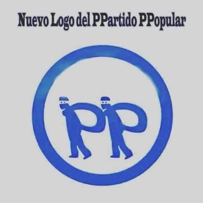El PP ha optado por el nuevo logo ante los permanentes casos de corrupción.