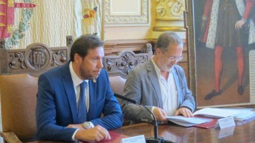 Oscar Puente y Saravia, alcalde y teniente de alcalde de Valladolid, socialista y comunista que paralizan Valladolid.