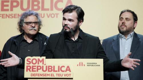"""Rufián quiere permanecer """"el menor tiempo posible en el Parlamento de un país vecino"""""""