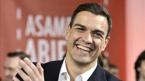 Pedro Sánchez Pérez-Castejón --conocido como 'El viru'-- actual líder del PSOE y candidato del PSOE al Gobierno de la nación.