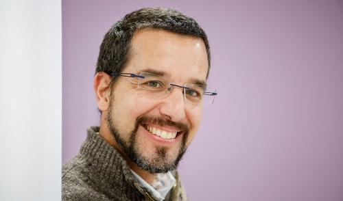 Sergio Pascual, el secretario de organización de Podemos.