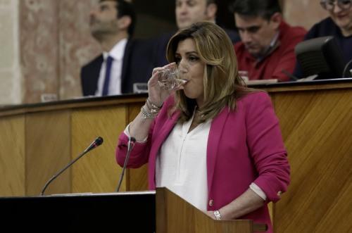 Susana Díaz, actual presidenta de Andalucía, dispuesta a apartar a Pedro Sánchez de la destrucción del PSOE.