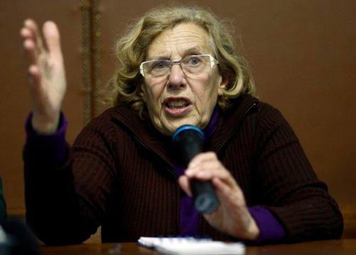 Manuela Carmena, alcaldesa podemita de Madrid y presunta implicada en alzamiento de bienes.