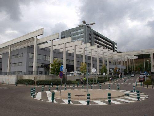 Vista parcial del Hospital Universitario de Burgos (HUBU)