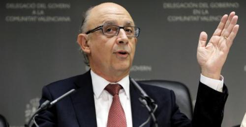 Cristóbal Montoro, ministro de Hacienda del Gobierno provisional de Mariano Rajoy.
