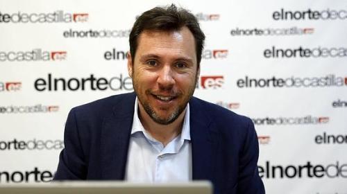 Oscar Puente, alcalde 'marca blanca' de Valladolid.